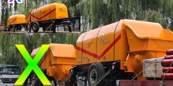 混凝土泵如何进行正确进行直接打水法的清洗——科尼乐