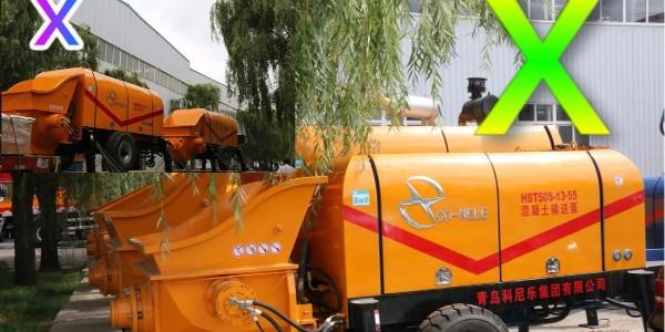 混凝土泵如何进行正确进行拆出料管法的清洗——科尼乐