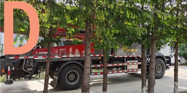混凝土泵车在施工前需勘察