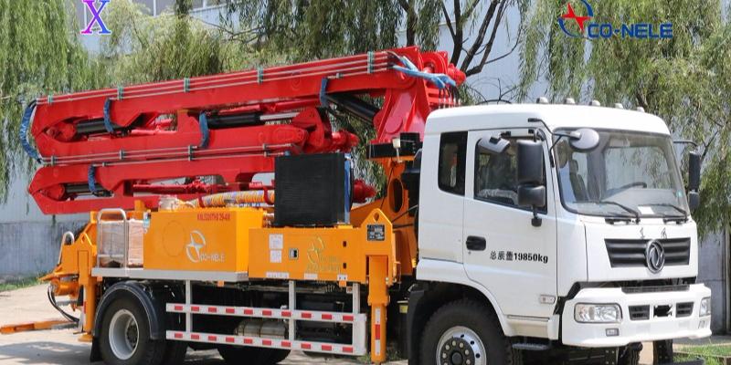 炎炎夏日,小型混凝土泵车发动机水温过高正确处理方案