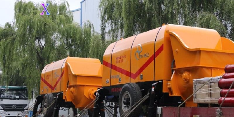 科尼乐混凝土泵施工中的使用方法误区