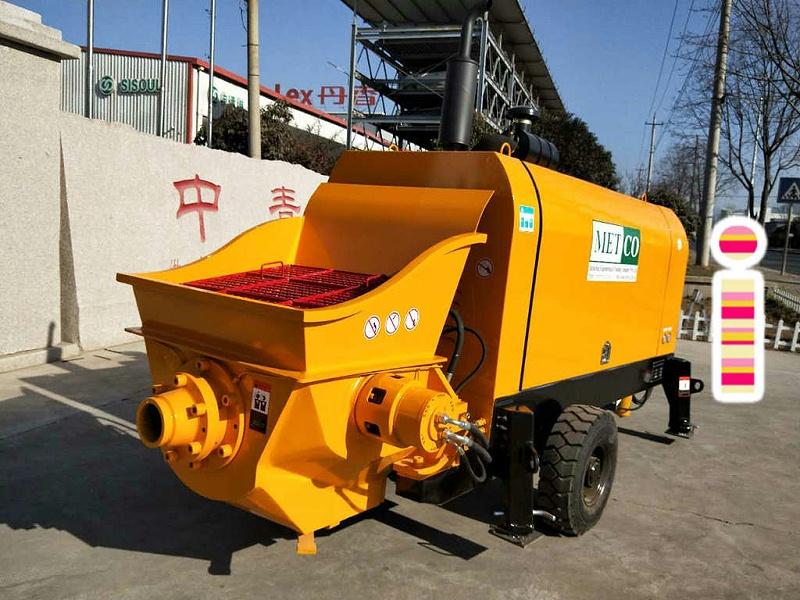 青岛混凝土输送泵价格