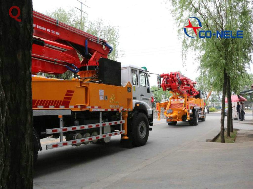 天泵、小型泵车、小型混凝土泵车