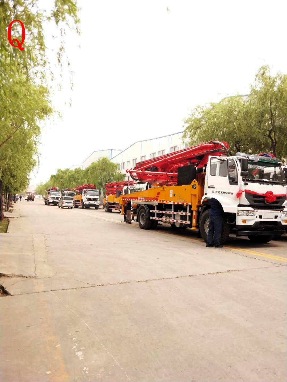 天泵,小型泵车,小型混凝土泵车,混凝土泵车