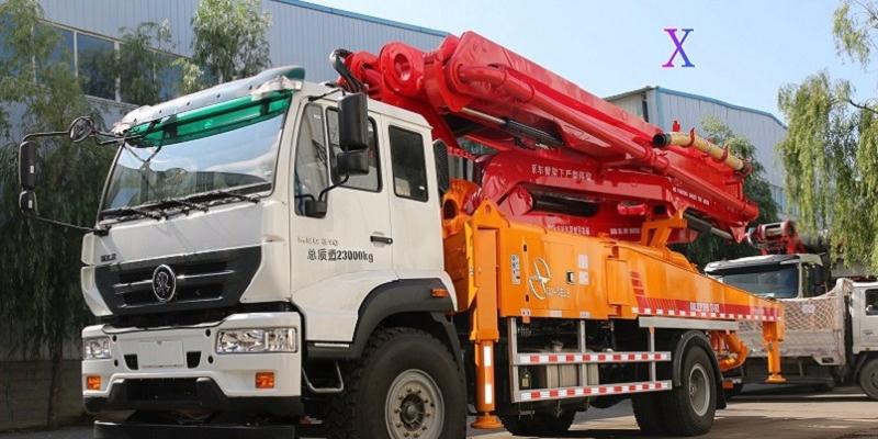 小型混凝土泵车的操作系统及性能——科尼乐