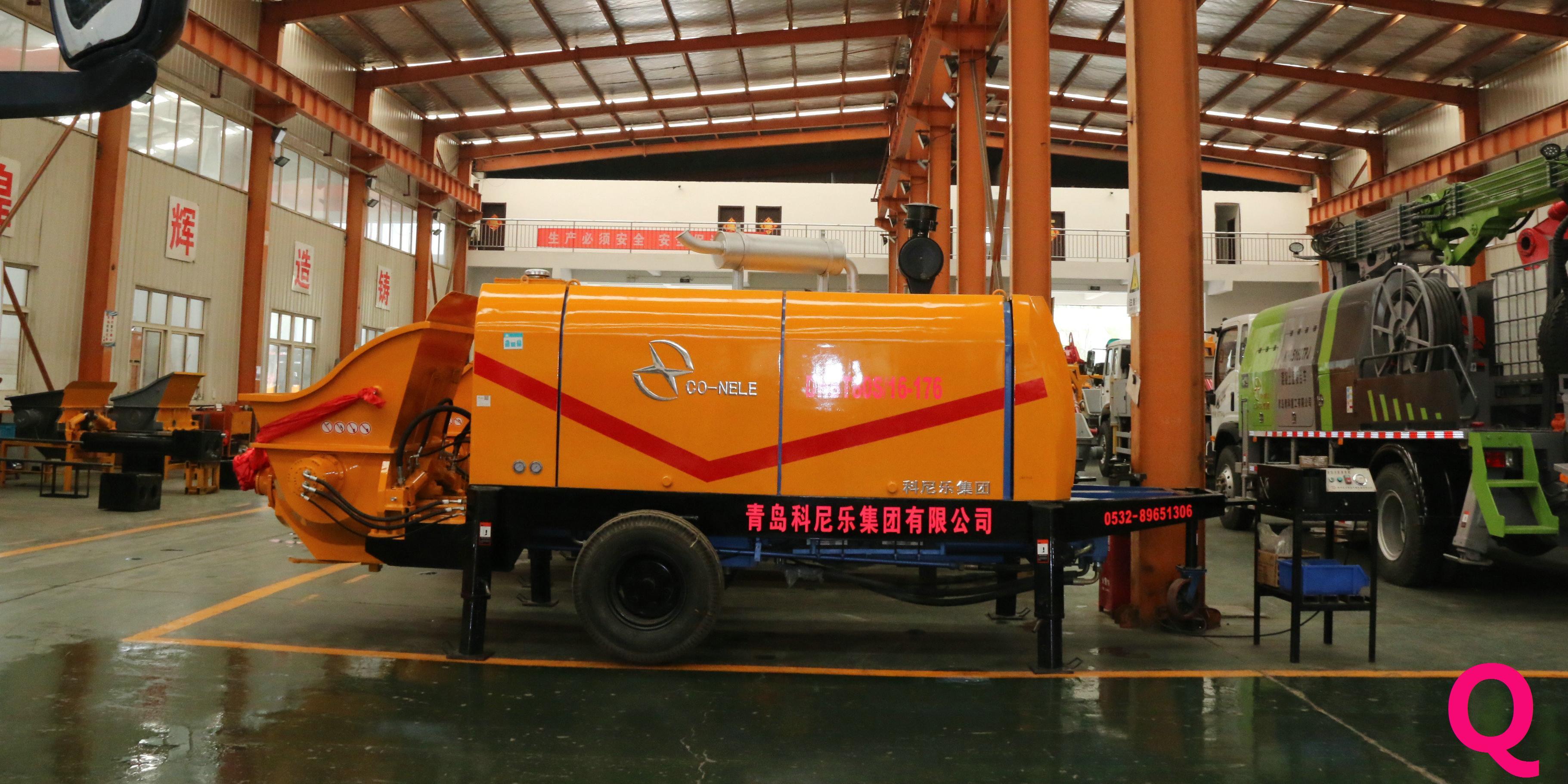 混凝土泵施工细节