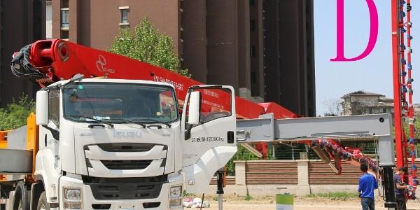小型混凝土泵车的回转支承如何保养?