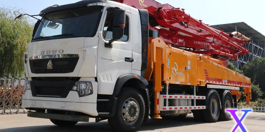 科尼乐小型混凝土泵车施工过程中出现断流解决办法