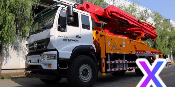 小型混凝土泵车臂架无法旋转怎么办?——科尼乐