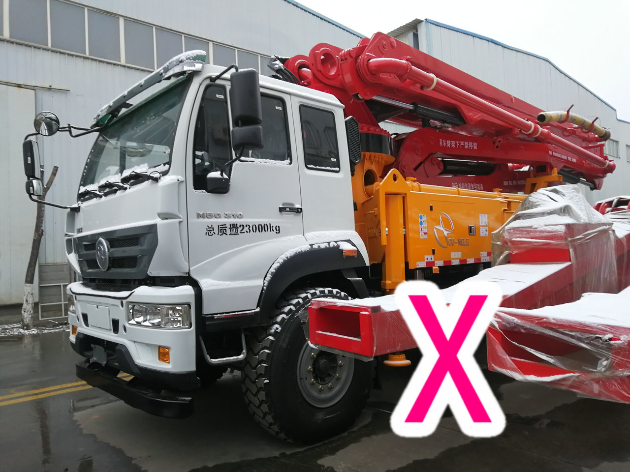 青岛小型混凝土泵车价格 (11)