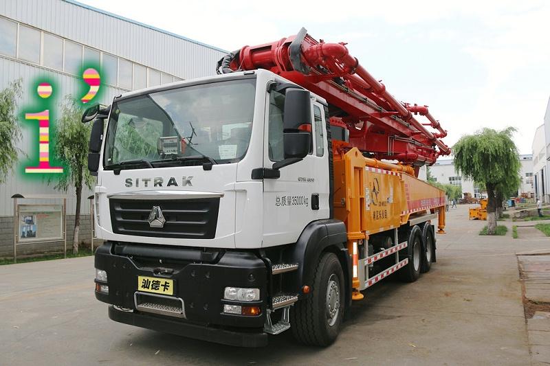 青岛小型混凝土泵车价格 (41)