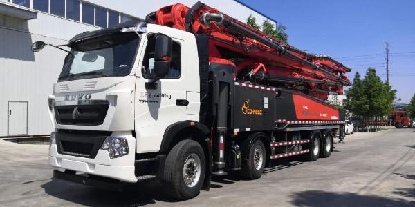 科尼乐豪沃58米泵车
