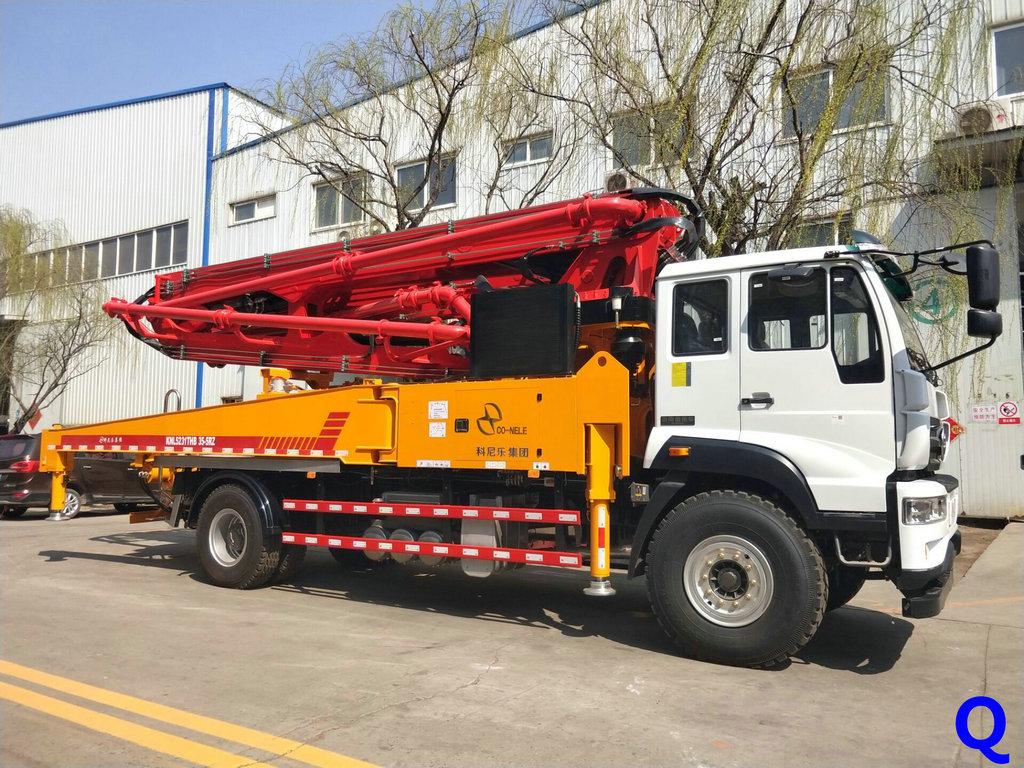 小型混凝土泵车,混凝土泵车、天泵、小型泵车