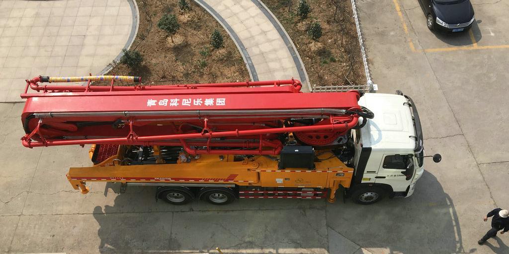 小型混凝土泵车臂架常见故障及解决方法