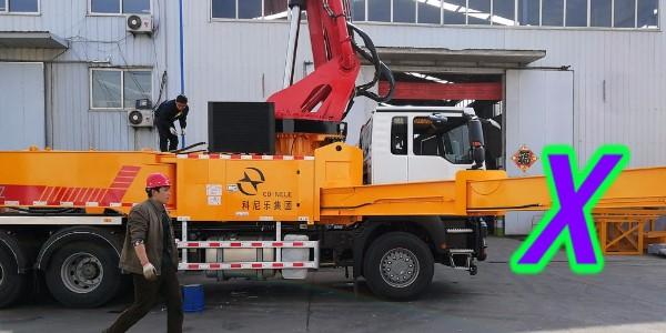 小型泵车施工篇—低温季节如何预防混凝土上冻