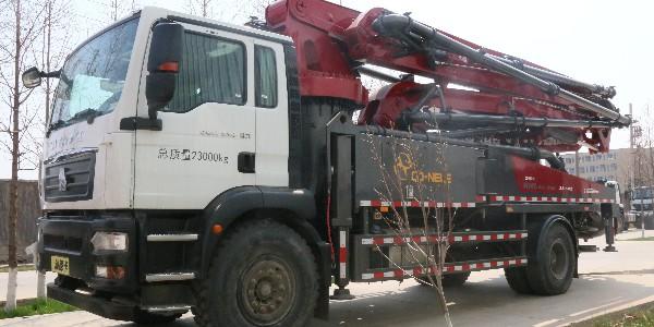 科尼乐 汕德卡38米泵车