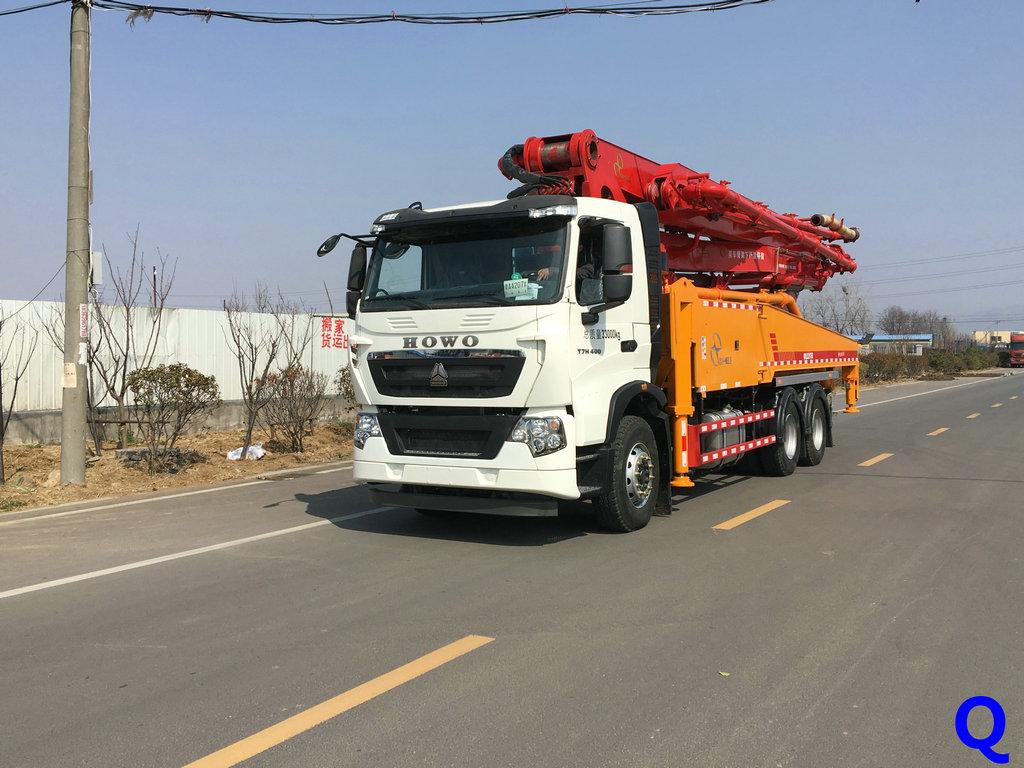 小型混凝土泵车,青岛科尼乐混凝土泵车,天泵,