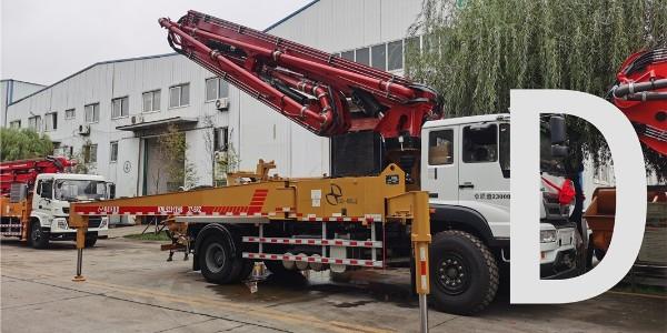 定期检查泵车的结构件是否稳固