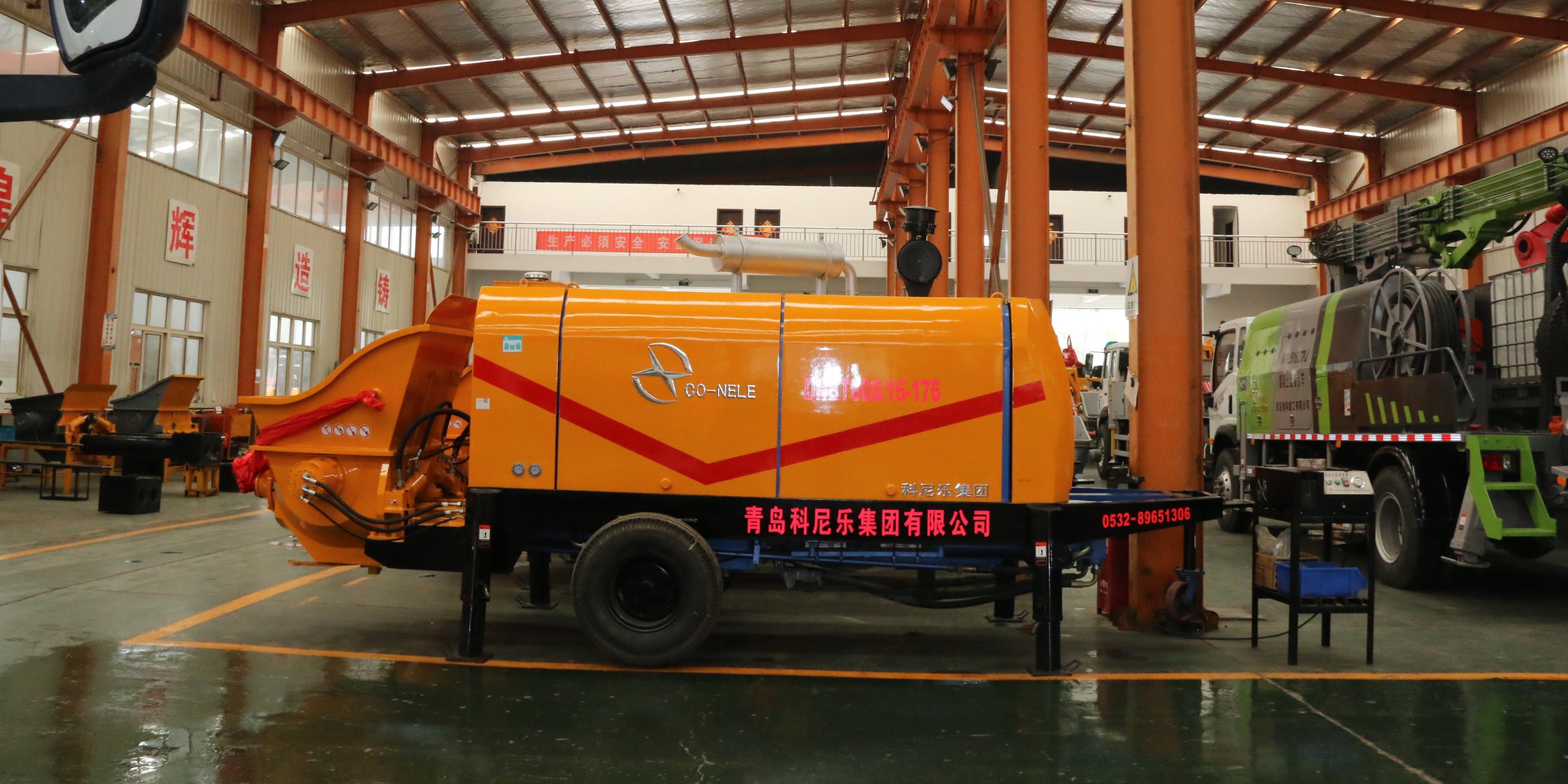 混凝土泵车,科尼乐混凝土泵