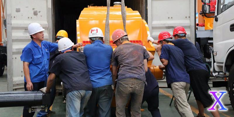 科尼乐教你如何选择适合自己施工需求的混凝土泵