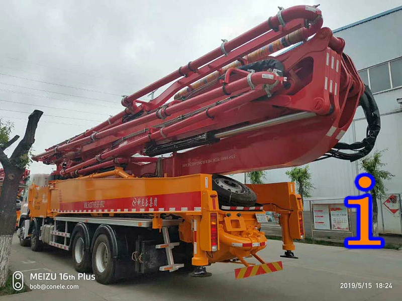 青岛小型混凝土泵车价格 (19)
