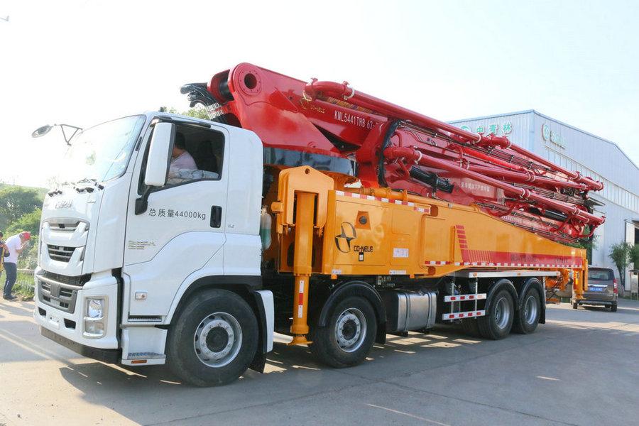 科尼乐 重庆五十铃63米混凝土泵车
