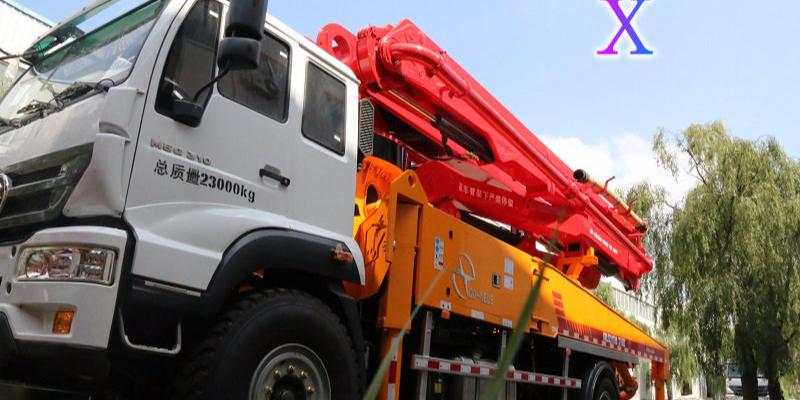 科尼乐小型混凝土泵车施工过程中应该规避哪些操作?