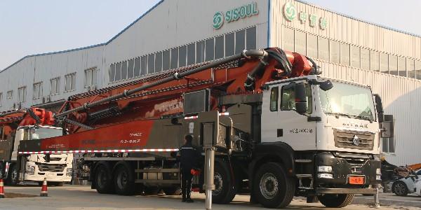 科尼乐汕德卡63米泵车