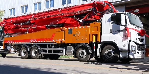 科尼乐 重庆五十铃58米混凝土泵车