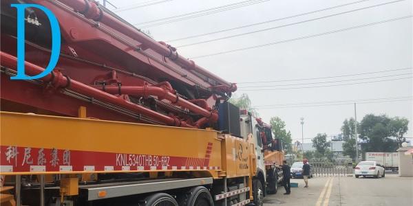 怎样将混凝土泵车正确分类你了解吗?