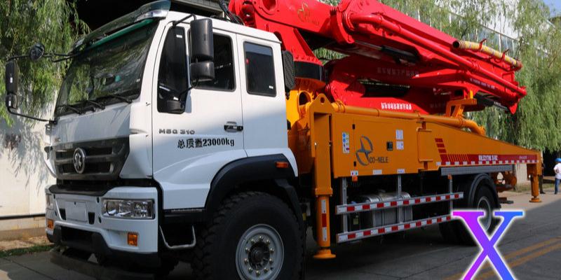 科尼乐小型混凝土泵车的优势及特点