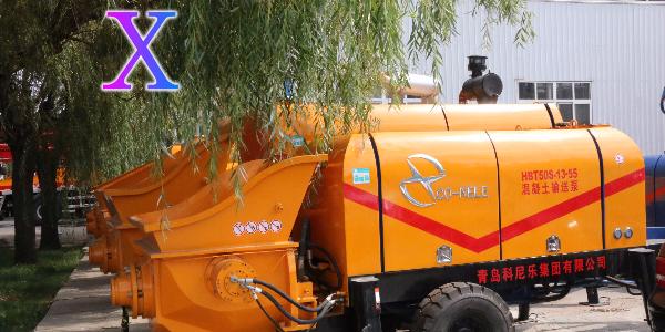 混凝土泵根据实际施工情况应如何进行正确的选型(二)——科尼乐