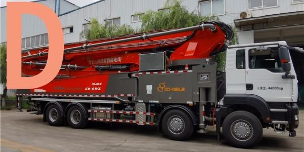 泵车施工前应保持机身稳定