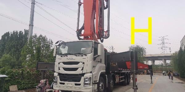 混凝土泵车的主要结构