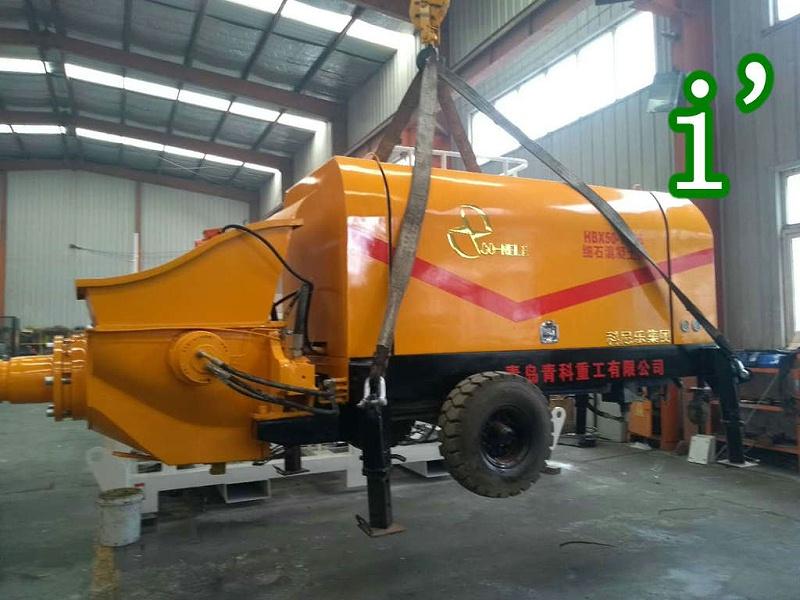 青岛混凝土输送泵价格 (1)
