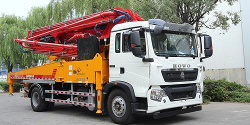 科尼乐为您浅析小型混凝土泵车突发事件处理