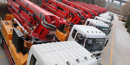 科尼乐为您解析小型混凝土泵车分动箱出现故障如何解决