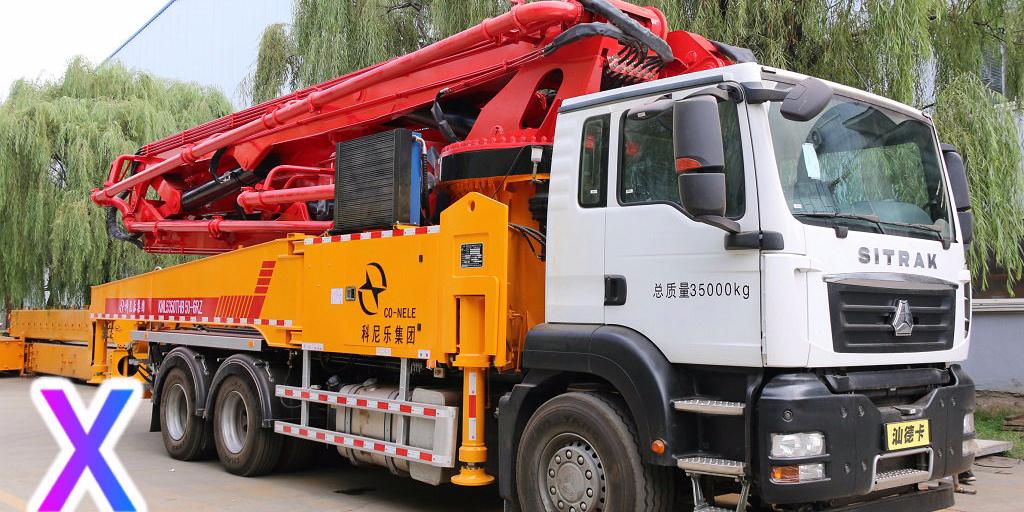 小型混凝土泵车有效去除零件上油污的方法——科尼乐