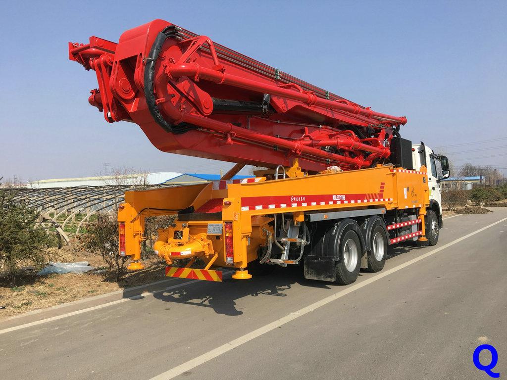 科尼乐小型混凝土泵车'小型泵车'天泵''