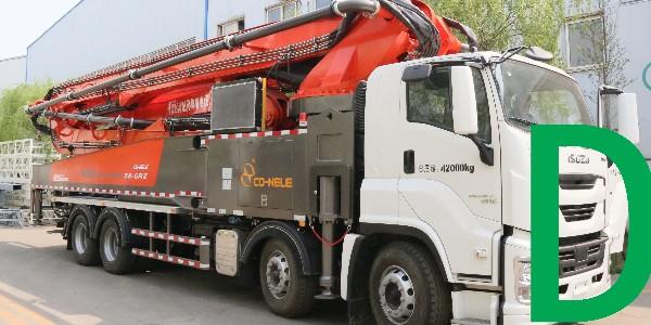 利用加活塞法清洗泵车管道