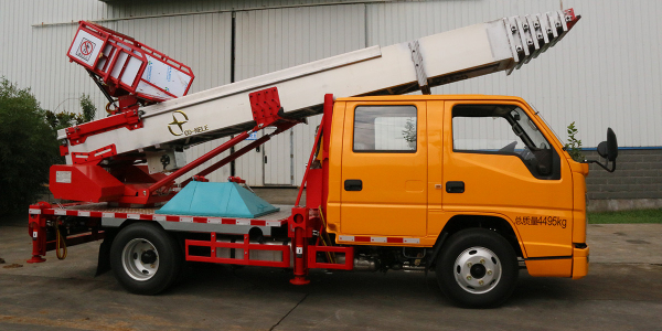 KNL5040TBA 云梯车