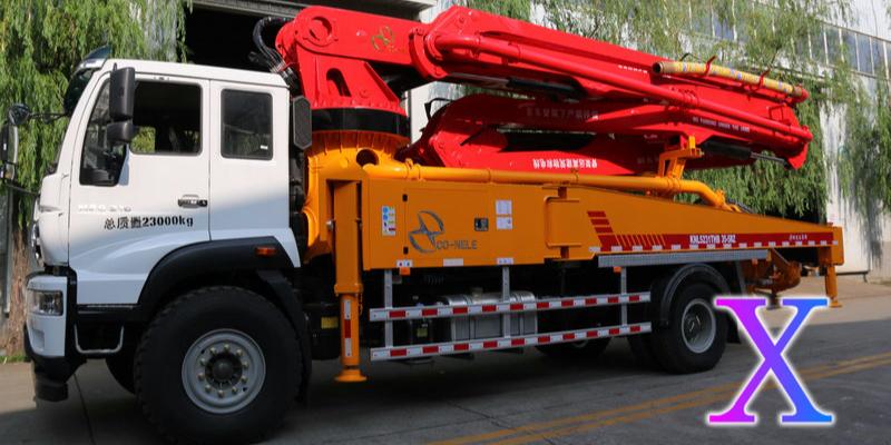 小型混凝土泵车如何正确使用与操作?——科尼乐