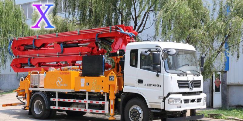 小型混凝土泵车伸展臂架时的注意事项——科尼乐