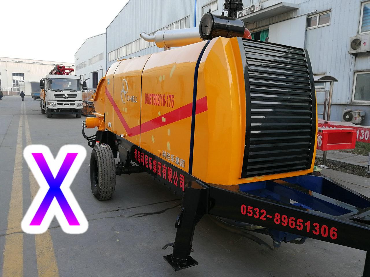 青岛混凝土拖泵