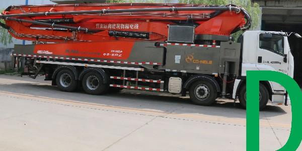 混凝土泵车施工需要多大场地才行?