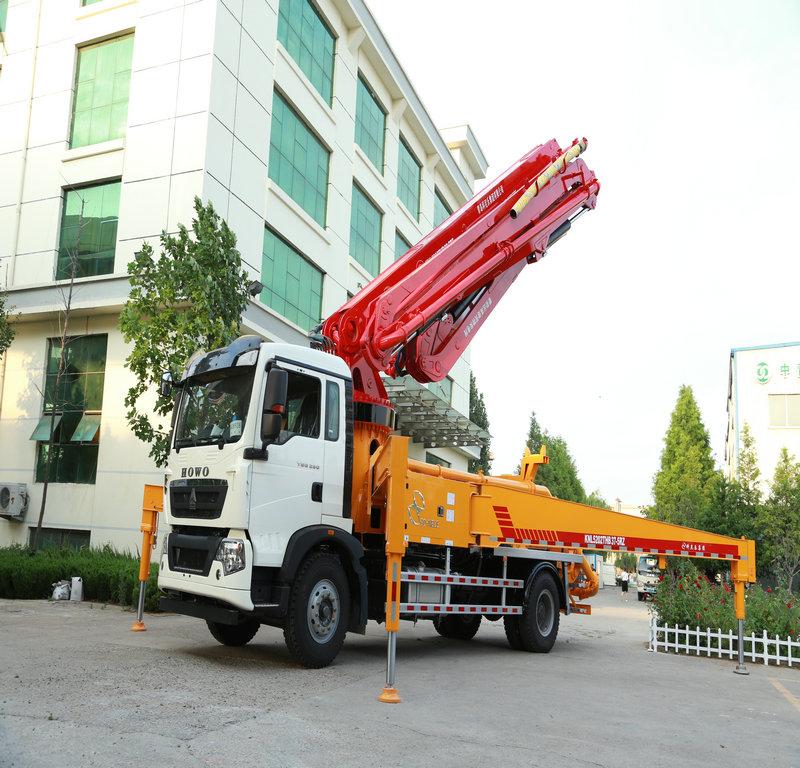 小型混凝土泵车,天泵,小型泵车,混凝土泵车