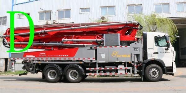 混凝土输送泵和混凝土泵车在施工时的区别?