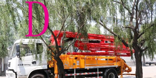 小型混凝土泵车操作前必看的19条(一)