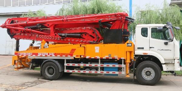科尼乐 豪瀚38米泵车
