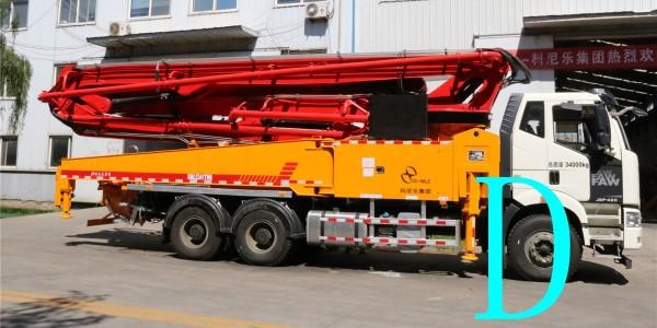 小型混凝土泵车软管操作要注意的细节